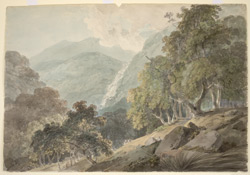 Waterfall at Vannar Turtham. 3 August 1792